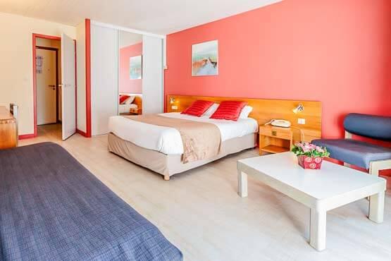 Chambre double Hôtel Charente maritime