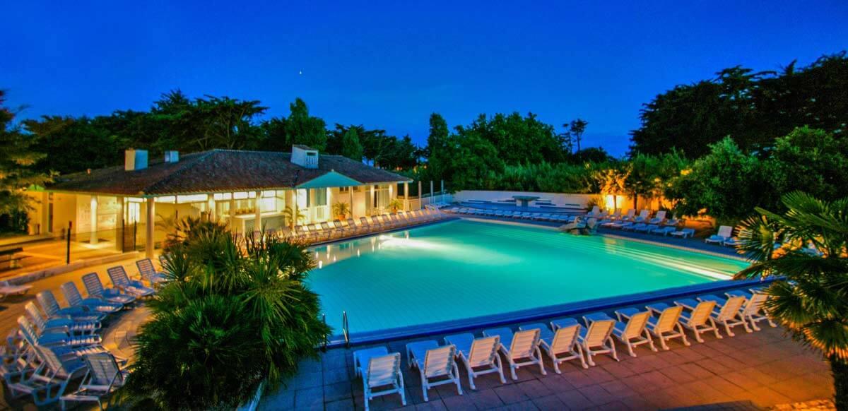 Hôtel piscine Charente maritime