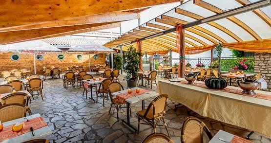 Hôtel restaurant terrasse Île de ré