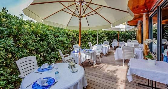 table d'Amphitrite Hôtel Île de ré