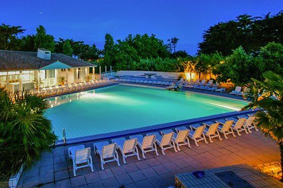 hotel piscine ile de ré