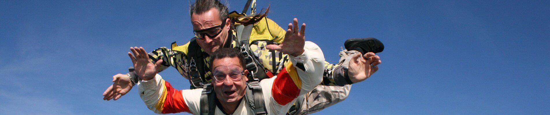 saut en parachute ile de ré