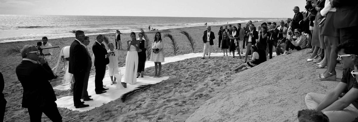 salle pour mariage sur l'île de ré